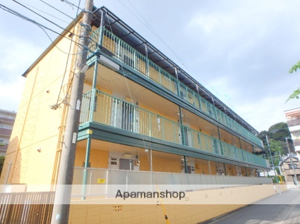 神奈川県横浜市港北区、日吉駅徒歩17分の築29年 3階建の賃貸マンション