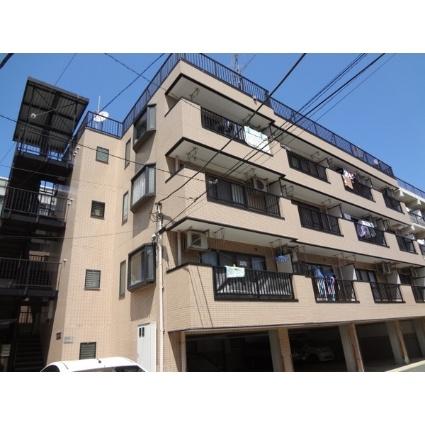 神奈川県川崎市中原区、向河原駅徒歩9分の築25年 4階建の賃貸マンション