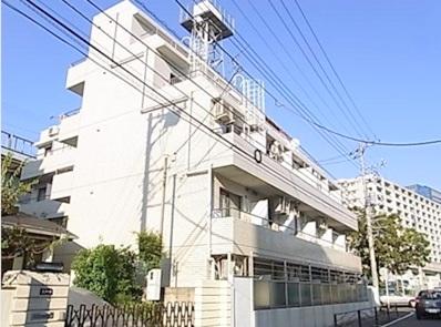 神奈川県川崎市中原区、武蔵中原駅徒歩17分の築27年 5階建の賃貸マンション