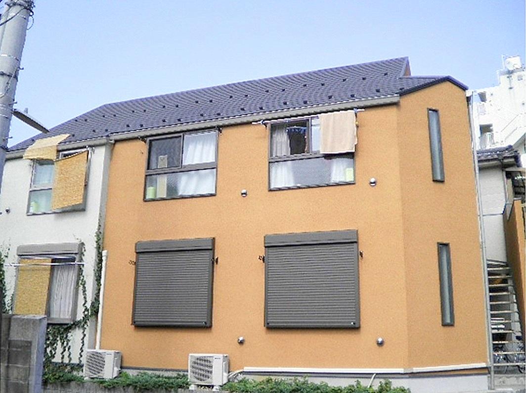 神奈川県川崎市中原区、向河原駅徒歩4分の築9年 2階建の賃貸アパート