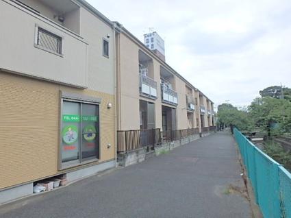 神奈川県川崎市中原区、新丸子駅徒歩13分の築32年 2階建の賃貸アパート