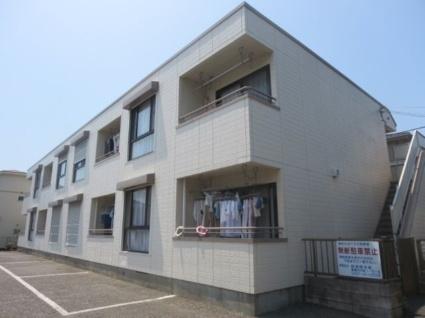 神奈川県横浜市港北区、新横浜駅徒歩12分の築28年 2階建の賃貸アパート