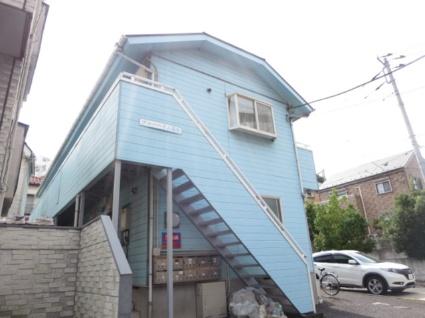 神奈川県横浜市港北区、菊名駅徒歩9分の築25年 2階建の賃貸アパート