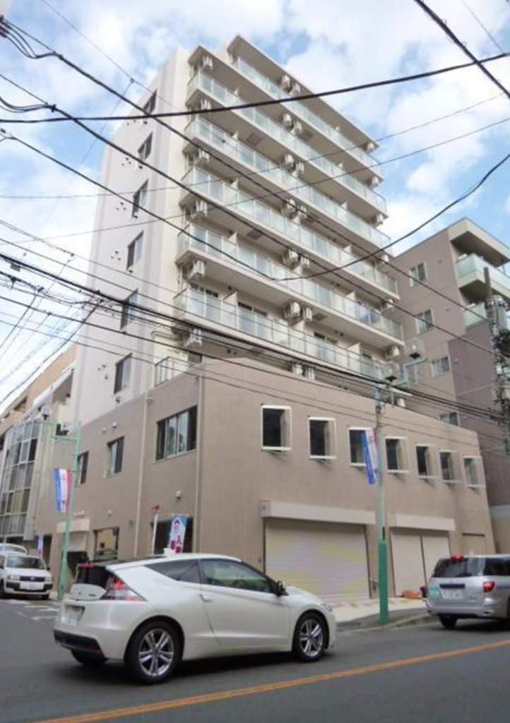 神奈川県横浜市港北区、綱島駅徒歩3分の築1年 9階建の賃貸マンション