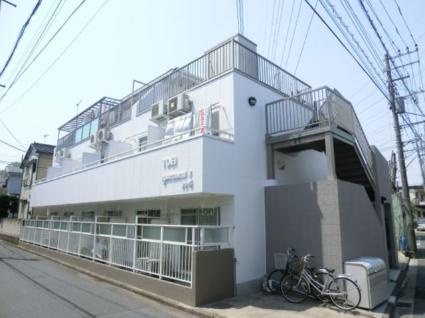 神奈川県横浜市港北区、綱島駅徒歩17分の築27年 3階建の賃貸マンション