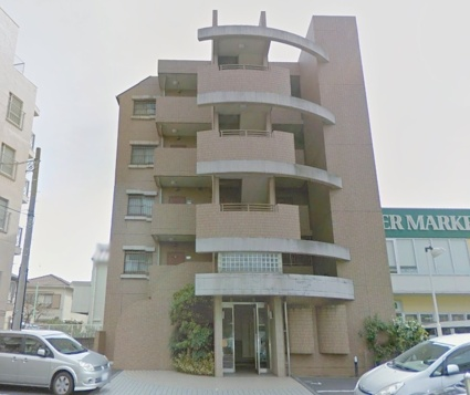 神奈川県横浜市港北区、綱島駅徒歩14分の築19年 5階建の賃貸マンション