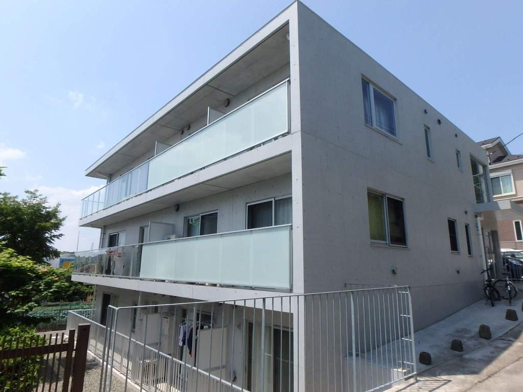 神奈川県横浜市港北区、元住吉駅徒歩24分の築2年 3階建の賃貸マンション