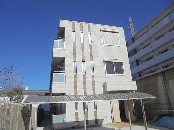 神奈川県横浜市港北区、日吉駅徒歩50分の新築 3階建の賃貸マンション