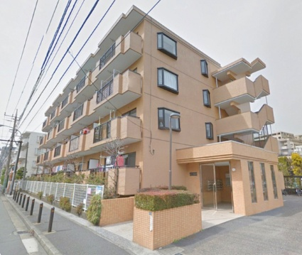 神奈川県横浜市港北区、日吉駅徒歩29分の築23年 4階建の賃貸マンション