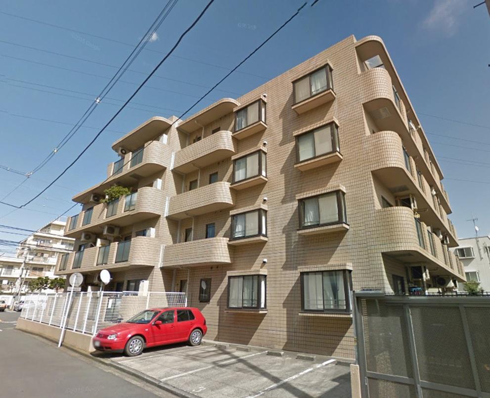 神奈川県横浜市港北区、日吉駅徒歩16分の築27年 4階建の賃貸マンション