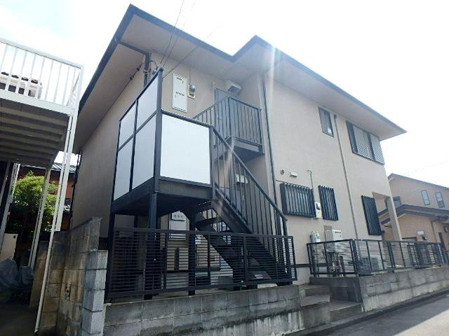 神奈川県横浜市港北区、綱島駅徒歩15分の築22年 2階建の賃貸アパート
