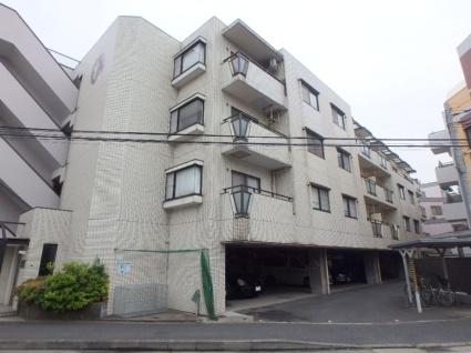 神奈川県横浜市港北区、日吉駅徒歩14分の築27年 4階建の賃貸マンション