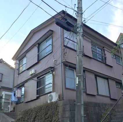 神奈川県横浜市鶴見区、菊名駅徒歩25分の築40年 2階建の賃貸アパート