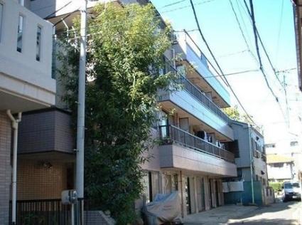 神奈川県川崎市中原区、武蔵小杉駅徒歩10分の築25年 4階建の賃貸マンション