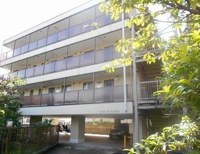 神奈川県横浜市港北区、綱島駅徒歩20分の築25年 4階建の賃貸マンション