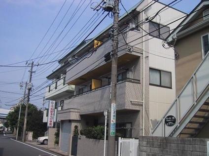 神奈川県横浜市港北区、大倉山駅徒歩10分の築29年 3階建の賃貸マンション