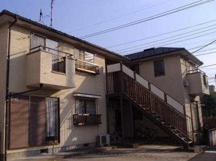 神奈川県川崎市中原区、武蔵中原駅徒歩18分の築26年 2階建の賃貸アパート