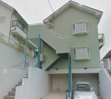 神奈川県横浜市港北区、日吉駅徒歩25分の築26年 2階建の賃貸アパート