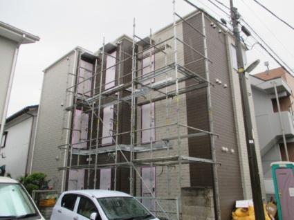 神奈川県横浜市港北区、菊名駅徒歩25分の新築 3階建の賃貸アパート
