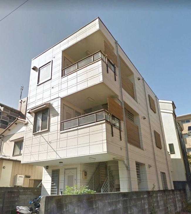 神奈川県川崎市中原区、向河原駅徒歩13分の築26年 3階建の賃貸マンション