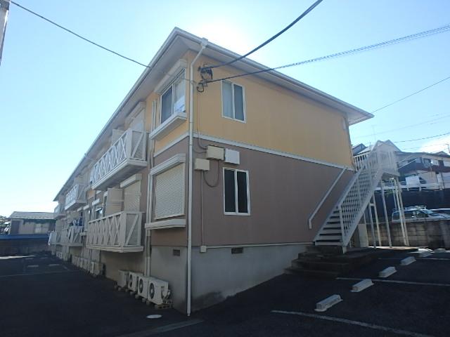神奈川県横浜市港北区、日吉駅徒歩19分の築23年 2階建の賃貸アパート