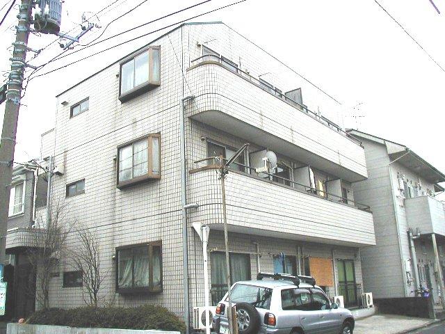 神奈川県横浜市港北区、日吉駅徒歩25分の築26年 3階建の賃貸マンション