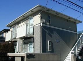 神奈川県川崎市中原区、武蔵小杉駅徒歩8分の築15年 2階建の賃貸アパート