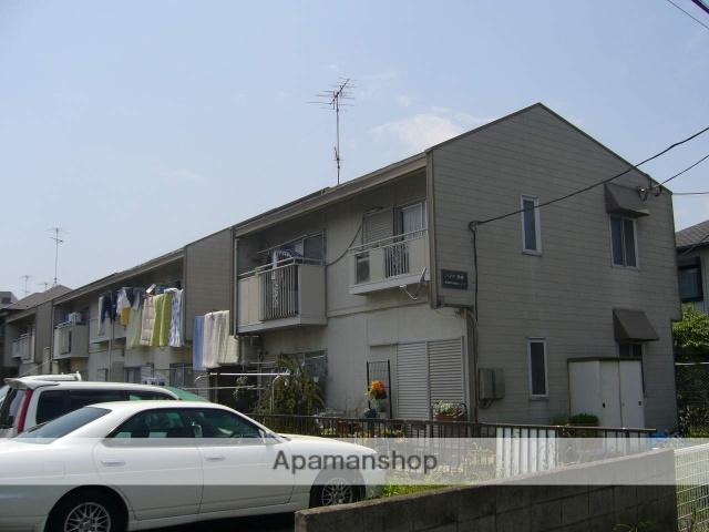 神奈川県相模原市南区、小田急相模原駅徒歩12分の築30年 2階建の賃貸アパート