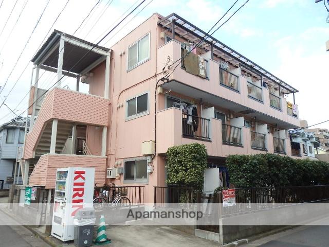 神奈川県大和市、南林間駅徒歩8分の築30年 3階建の賃貸マンション
