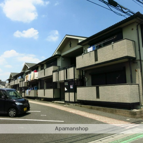 神奈川県相模原市南区、小田急相模原駅徒歩26分の築14年 2階建の賃貸アパート
