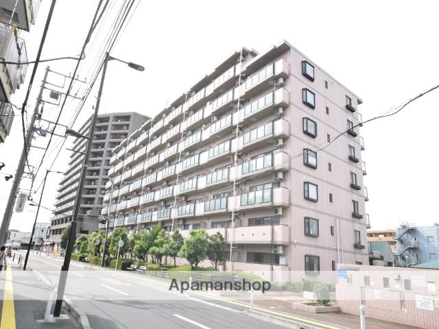 神奈川県座間市、小田急相模原駅徒歩24分の築25年 8階建の賃貸マンション