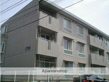 神奈川県座間市、小田急相模原駅徒歩7分の築27年 3階建の賃貸マンション