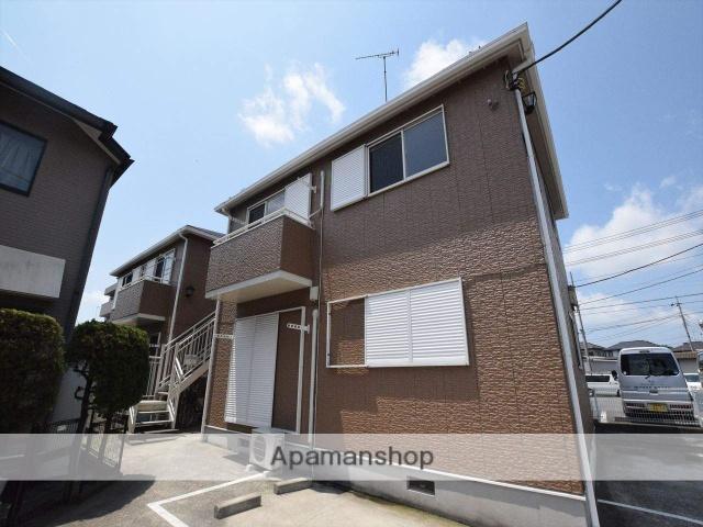 神奈川県相模原市南区、原当麻駅徒歩17分の築24年 2階建の賃貸アパート