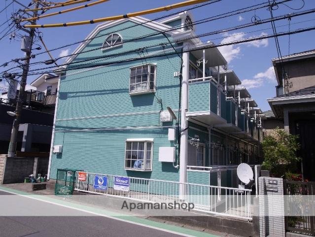 神奈川県相模原市南区、相武台前駅徒歩10分の築25年 2階建の賃貸アパート