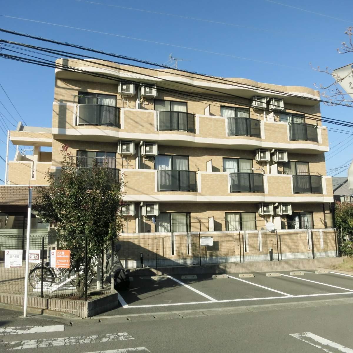 神奈川県座間市、入谷駅徒歩30分の築10年 3階建の賃貸マンション