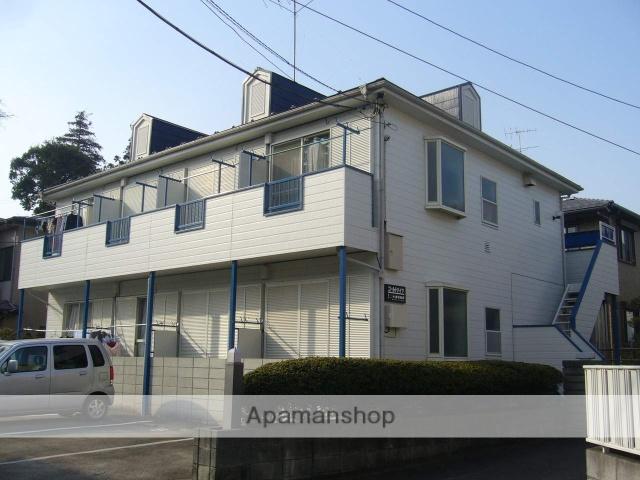 神奈川県座間市、相武台前駅徒歩4分の築27年 2階建の賃貸アパート