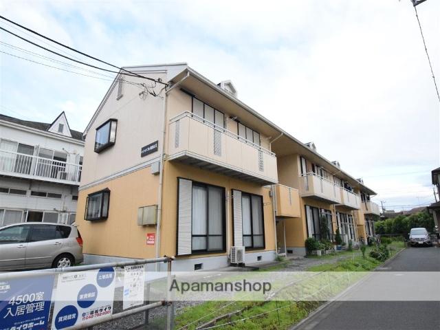 神奈川県相模原市南区、相武台前駅徒歩6分の築28年 2階建の賃貸アパート