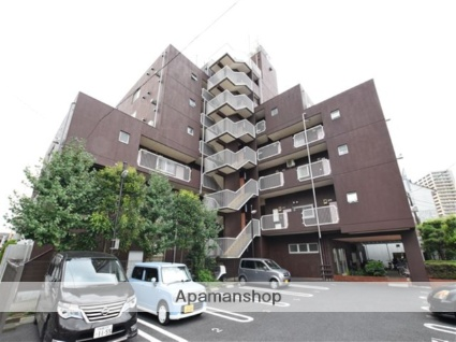 神奈川県相模原市南区、相模大野駅徒歩29分の築36年 7階建の賃貸マンション
