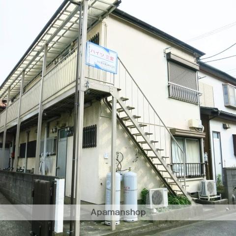 神奈川県相模原市南区、小田急相模原駅徒歩11分の築48年 2階建の賃貸アパート