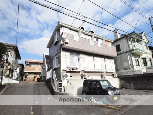 神奈川県座間市、座間駅徒歩7分の築25年 2階建の賃貸アパート