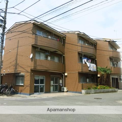 神奈川県相模原市南区、小田急相模原駅徒歩3分の築28年 3階建の賃貸マンション
