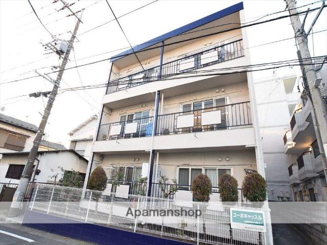 神奈川県相模原市南区、相模大野駅徒歩24分の築34年 3階建の賃貸マンション