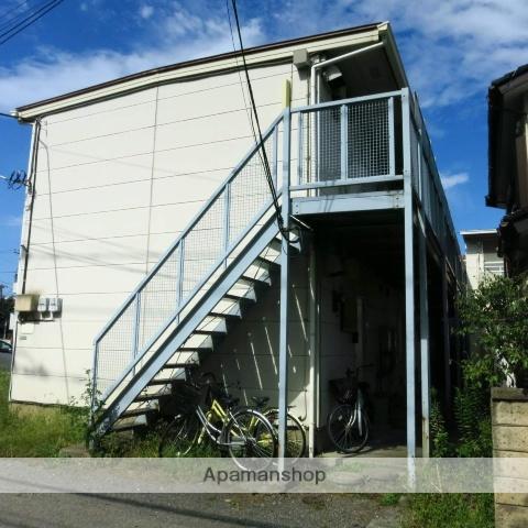 神奈川県相模原市南区、小田急相模原駅徒歩7分の築35年 2階建の賃貸アパート