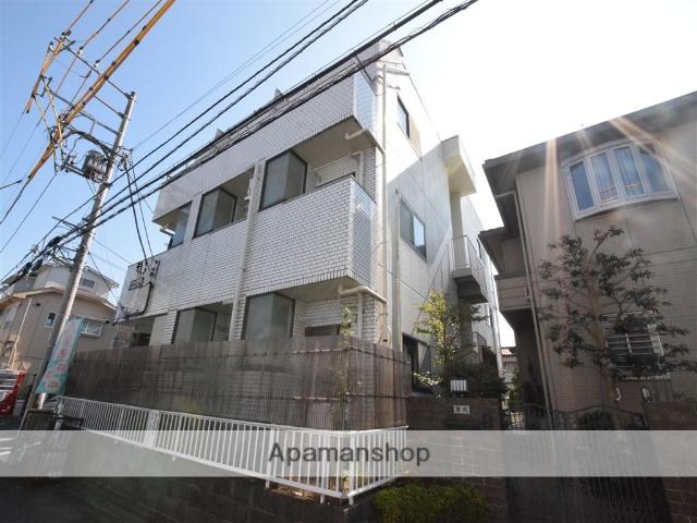 神奈川県相模原市南区、相武台前駅徒歩7分の築29年 3階建の賃貸マンション