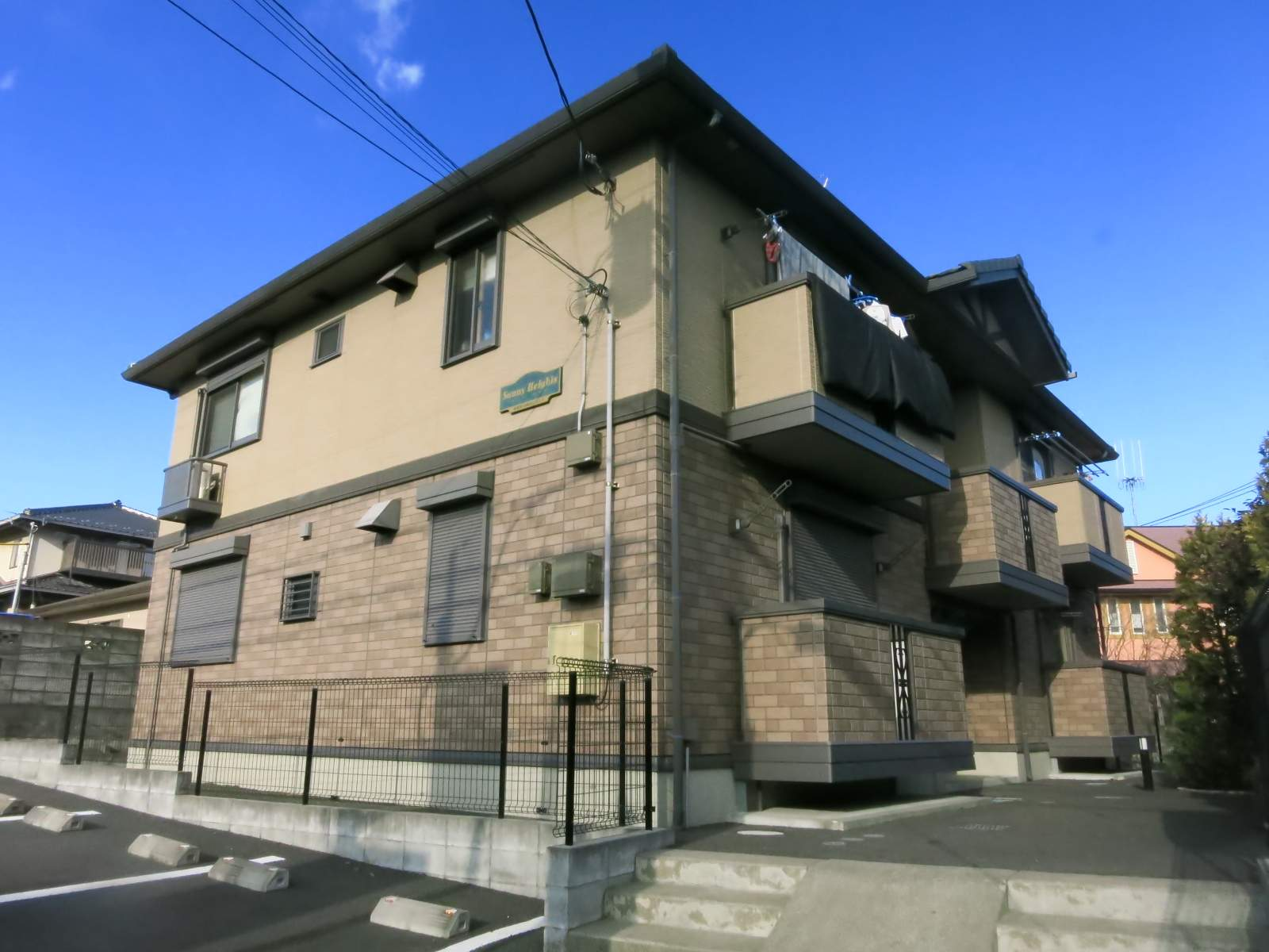 神奈川県相模原市南区、相武台下駅徒歩30分の築9年 2階建の賃貸アパート