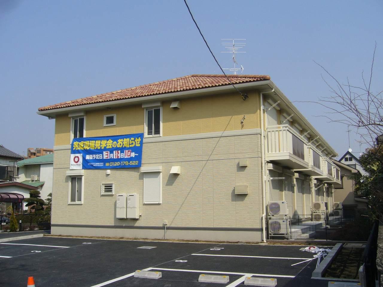 神奈川県座間市、相武台前駅徒歩9分の築10年 2階建の賃貸アパート