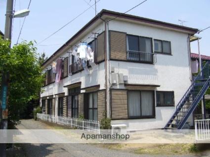 神奈川県相模原市南区、相武台前駅徒歩17分の築32年 2階建の賃貸アパート