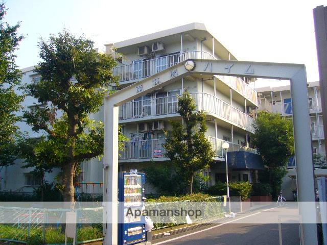 神奈川県座間市、南林間駅バス75分ひばりが丘1下車後徒歩5分の築34年 4階建の賃貸マンション