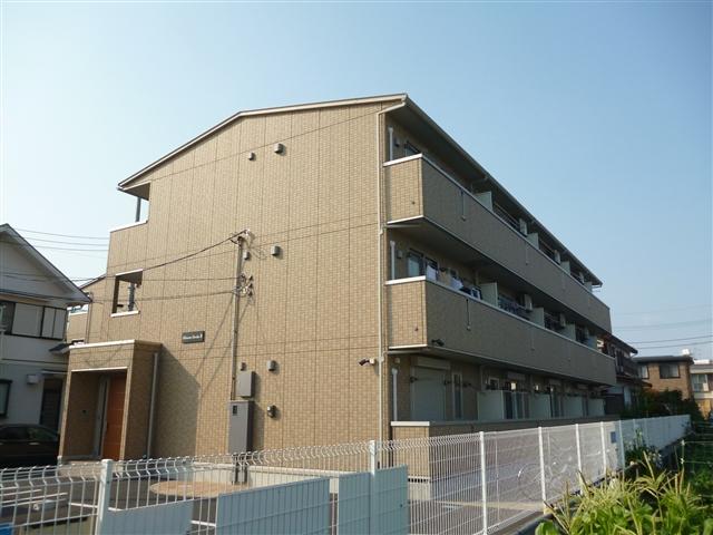 神奈川県相模原市南区、相模大野駅徒歩21分の築9年 3階建の賃貸アパート