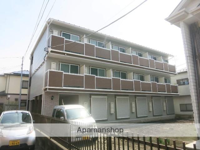 神奈川県大和市、南林間駅徒歩8分の築1年 3階建の賃貸アパート